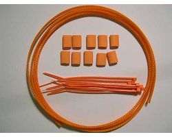 FMP1112 Expandable briaded wire protection kit-Orange