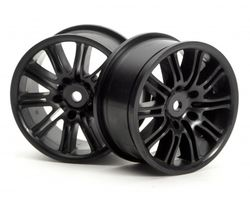 HPI-3771 10 spoke motor sport wheel (black)