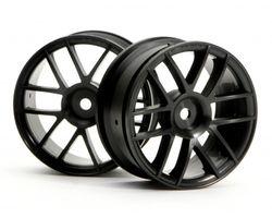 HPI-3796 Split 6 wheel 26mm (black)