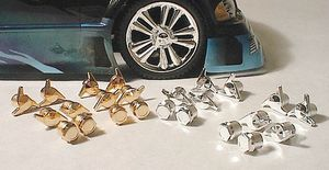 """RPM80814 """"Gold"""" Wheel Nuts & Knock-Off's"""