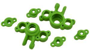 RPM73164 Rpm 1/16 e-revo/slash axle carriers - Green