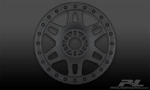 PR2724-03 1/8 Buggy, Split Six V2 Black Front or Rear Wheels
