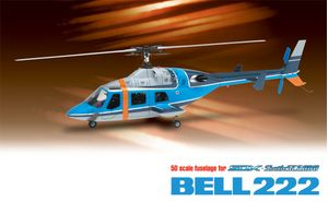 0403-960 50 fuselage bell222 (police colour) sp