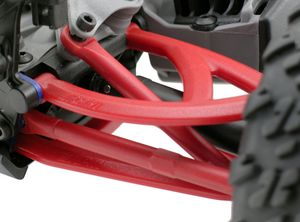 RPM80609 Rear Upper/Lower A-arms-Traxxas 1/16th Revo - Red