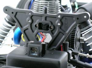 RPM80862 Rear shock tower nitro rustler/nitro stampede