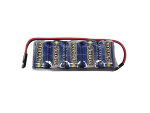 INT1600F 1600 mah reciever pack flat