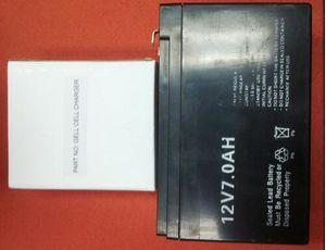 GELLPACK 12v sealed lead acid battery w/a/c charger