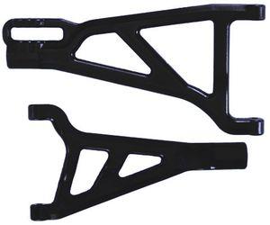 RPM80222 Revo front left arms- black
