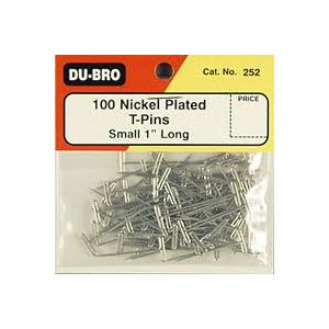 DBR253 Stainless Steel T-Pins 1-1/4in (100 pcs per pack)