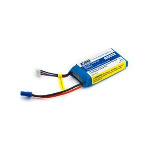 EFLB13002S20 1300mAh 2S 7.4V 20C LiPo, EC2