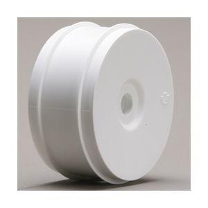 LOSA7750 1/8 Buggy Dish Wheels-White (4)