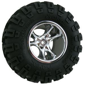 RPM82213 Clawz chrome crawler wheels wide