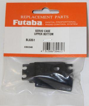FUTUBSCBLS351 Brushless Upper And Bottom Servo Case Set BLS351/B