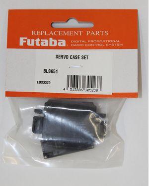 FUTSCBLS651  Brushless Servo Case Set BLS651