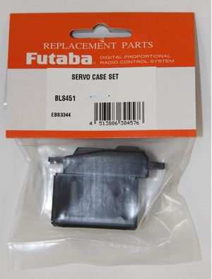 FUTSCBLS451 Brushless Servo Case Set BLS451/452
