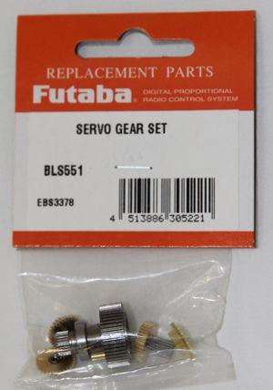 FUTSGBLS551 Brushless Servo Gear Set BLS551
