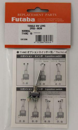 FUTEBT2286 Toggle Switch Top 3TFL101F (2-Pos Momentary Long)