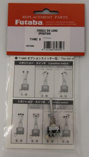 FUTEBT2284 Toggle Switch Top 3TFL101DE (3-Pos Toggle Long)