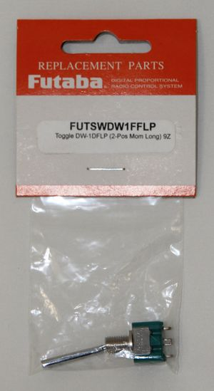 FUTSWDW1FFLP Toggle SW DW-1FFLP (2 pos. Long (Moment)) 9C